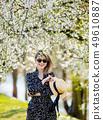 woman, spring, girl 49610887