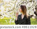 woman, flower, blossom 49611028