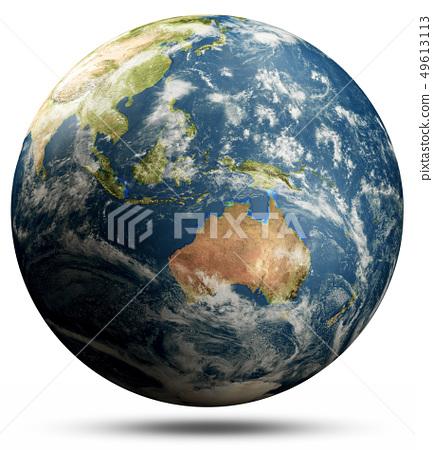 Planet Earth - Australia and Oceania, Pacific ocean 49613113