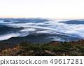 산 야경과 운해 49617281