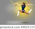 Cheerleader girl 49625133