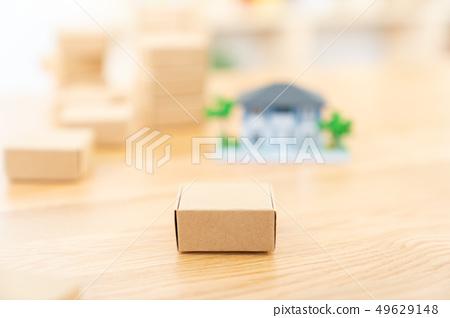 移動圖像房屋抵押房地產圖像微型模型房子 49629148