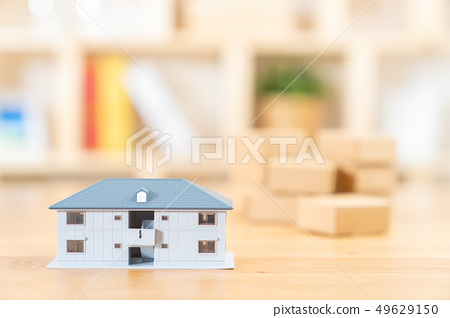 移動圖像房屋抵押房地產圖像微型模型房子 49629150