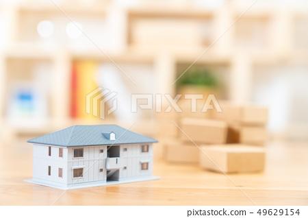 移動圖像房屋抵押房地產圖像微型模型房子 49629154