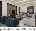 Living room modern style 49633636