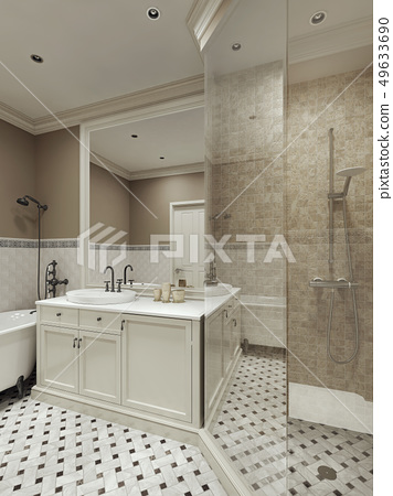 bathroom classic style 49633690