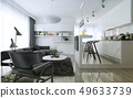 Apartment studio modern style 49633739
