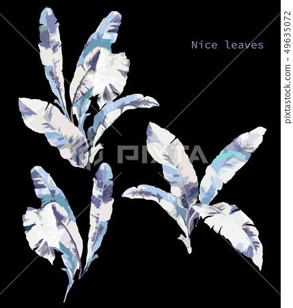 抽象的樹葉 49635072