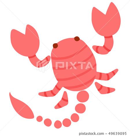 蠟筆色蝎子 49639895