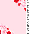 Background-Rose-Carnation-Pink-Mother's Day 49639912