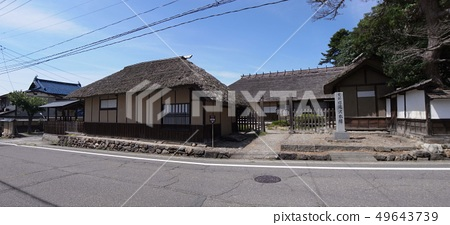 Former Takizawa Honjin: A master rest area after a change of office hours. In the Boshin War, the main battlefield in the direction of Tonoguchi became a White Tiger Corps. 49643739