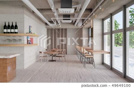 咖啡館形象 49649100