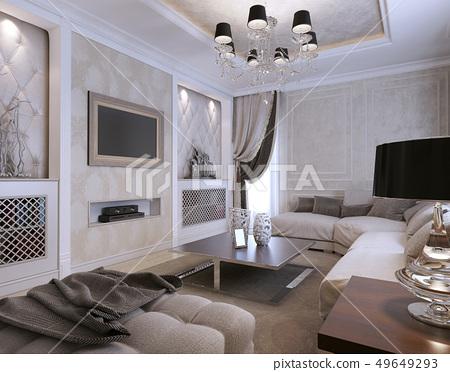 Guest room avangard style 49649293