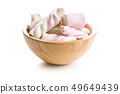 Sweet colorful marshmallows. 49649439