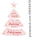树木 树 圣诞树 49649476