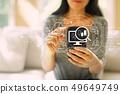 smartphone, woman, computer 49649749