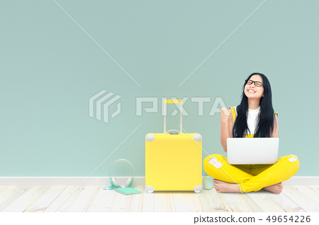 Young Woman happy 49654226