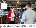 interview, journalist, people 49655071
