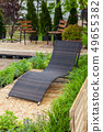 A place to relaxation in backyard in garden 49655382