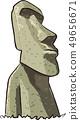 Moai statue 49656671