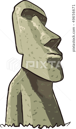 Moai雕像 49656671