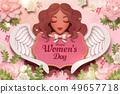 Happy women's day design 49657718