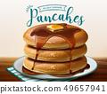 煎饼 广告 蜂蜜 49657941
