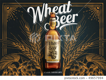 Wheat beer ads 49657994
