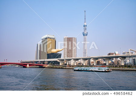 Asakusa Sumida River Tokyo Sky Tree and Cruise (Hotaruna) 49658462