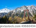 새로 내린 눈의 前穂高岳 49660494