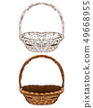 .Wicker Basket 49668955