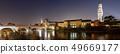 Ponte Pietra and Adige River at night - Verona 49669177