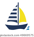 遊艇圖標 49669575