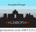 Lisbon city infographics 49672151