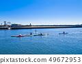 【Kanagawa Prefecture】 Enoshima Sea and canoe 49672953