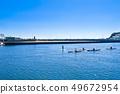 【Kanagawa Prefecture】 Enoshima Sea and canoe 49672954