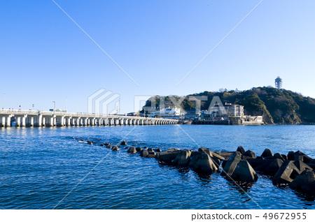 【카나가와 현】 에노시마 에노시마 대교 에노시마 弁天橋 49672955