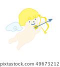 천사 큐피드 일러스트 49673212