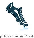 American football boot icon 49675556