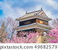 Ueda City, Nagano Prefecture Ueda Castle and Sakura 49682579