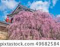 Ueda City, Nagano Prefecture Ueda Castle and Sakura 49682584