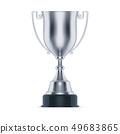 银 奖杯 奖品 49683865