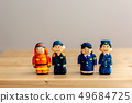 Firefighters and policemen 49684725