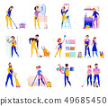 Cleaning Service Set  49685450