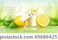 Sugar scrub with lemon 49686425
