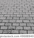 vector background of grunge paving slabs texture 49688940
