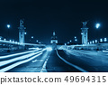 Alexandre III bridge night view 49694315