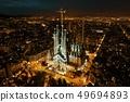 Sagrada Familia aerial view 49694893
