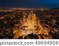 Sagrada Familia aerial view 49694906