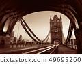 Tower Bridge morning traffic 49695260